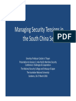 Thayer Managing Security Tensions in the South China Sea