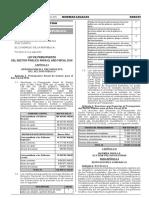 Ley 30372 Ley de Presupuesto 2016