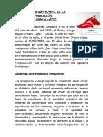 Fundación_Modelo de Estatuto