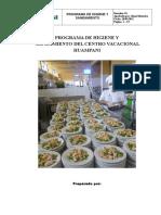 Programa de Hs Centro Vacacional Huampani 28.05.12