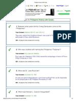 Philippine History (4th Grade)