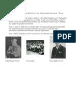 History of Guiding-Australia