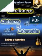 Cancionero Letras y Acordes Ministerio Agape