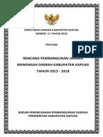 RPJMD 2013-2018 Kab Kapuas