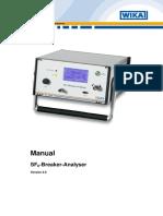 Manual SF6-Breaker-Analyser HF 100819