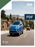 Toyota Rav4 2016 Le Xle Se Limited Caracteristicas Especificaciones Tecnicas