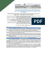Estudo Comparativo Da Geometria Das Partículas de Bambusa Tuldoides Com Espécies Utilizadas Na Fabricação de Painéis