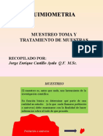 QUIMIOMETRIA MUESTREO