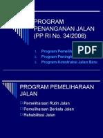 Program Penanganan Jalan