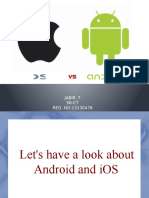 Android vs IOS versions