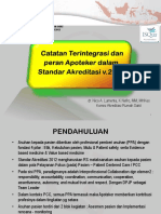 Integrated Note DrNico Dan Peran Apoteker-WS MPO 08-2014