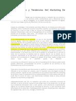 Características y Tendencias Del Marketing de Servicios