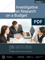 Texas Bar Legal and Investigative Research on a Budget CLE 2015