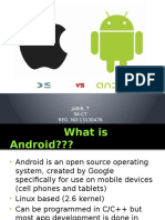 Android vs IOS Presentation