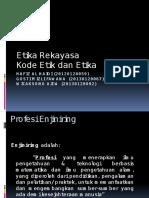 Presentasi Etika Rekayasa
