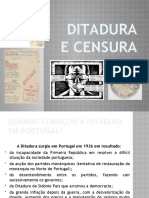 Ditadura e censura