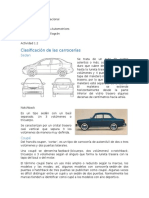 Clasificacion de Los Automoviles