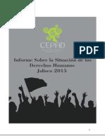 Informe Sobre La Situacion de Los Derechos Humanos en Jalisco 2015