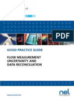 Flow Measurement Uncertainty and Data Reconciliation