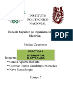 Práctica 1 Electronica II