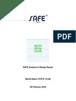 STD P-12 Design Calculation