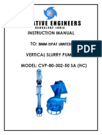 Pump Manual Cvp 80 302 50 Sa (Hc) 1