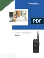 Motorola Professional Radio Gp328 Users Manual 272055