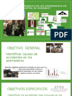Accidentes Laborales en Los Aserraderos en La