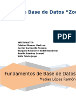 Zoologico-Base de Datos