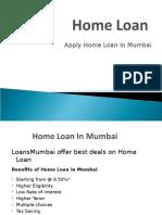 Home Loan in Mumbai