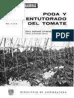 PODA Y ENTUTORADO DEL TOMATE