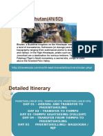Attractive Bhutan 4N PPT