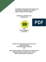 Proposal Penelitian Metil