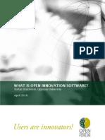 Hrastinski, S. (2010). What is Open Innovation Software?