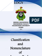 Classification and Nomenclature of Igneo