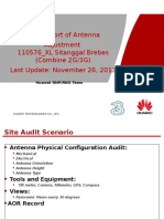 Report Site Audit AOR (Combine 2G-3G) 110576_XL Sitanggal Brebes
