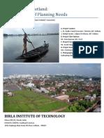 """East Kolkata Wetland"" ecosystem - The need assessment study - Mr. Asesh Sengupta."