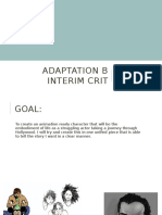 Adaptation B Interim Crit