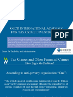 OECD international Academy for Tax Crime Investigation