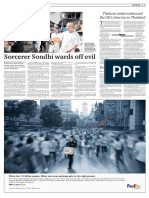 Sorcerer Sondhi Wards Off Evil