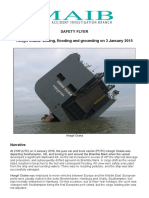 Hoegh Osaka safety notice