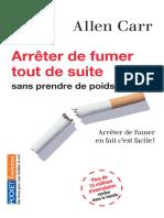 Arreter de Fumer Tout de Suite - Allen Carr