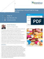 Best Practices for Safety Reporting in Clinical Trials for Drugs, Biologics and Medical Devices
