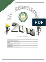 Prueba Olimpiada Final 2013 Ingles 4