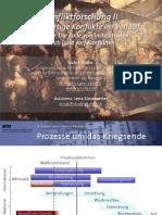 Int. Konfliktforschung II - Woche 07 - Die Rolle von Institutionen nach (und vor) Konflikten