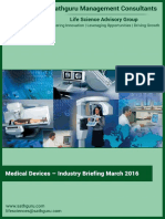 Indian Medical Devices and Diagnostics Industry_Industry Briefing_March2016