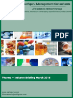 Indian Pharmaceutical Industry - Industry Briefing March 2016