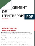 Le Management de l Entreprise