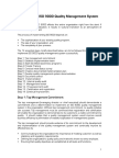 ISO9001 14 Steps to Implementation
