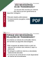 Transmissões em veiculos - Caixas - Generalidades